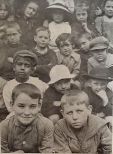 Some children from a Ragged School around 1914