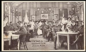 Australian Soldiers Club in YMCA Hut