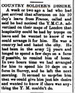 Western Herald Bourke country soldier desire
