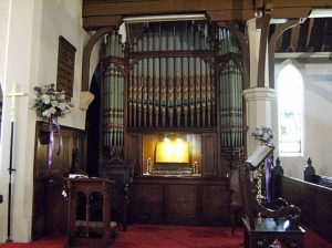 Organ at St Lukes Concord